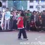 Boski breakdance pięciolatka!