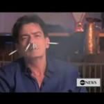 Charlie Sheen o paleniu