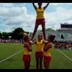 Zjawiskowy fail w wykonaniu cheerleaderek!