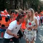 Trudne życie reporterki - EURO 2012