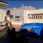 Skok do basenu - poziom hard