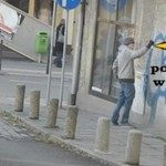 Żart z graffiti - HA, HA, HA!
