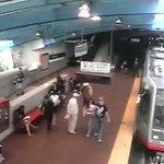 Zderzenie pociągów w metrze - OSTRE!