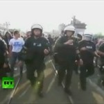 Policja kontra kibole - tak nas widzą za granicą!