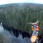 Skok na motorze - Z BLISKA!