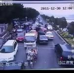 Kierowca ucieka przed policją!