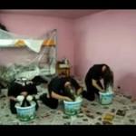 Metalowcy malują pokój - HIT!