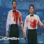 Krwawe show - WOW!