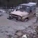 Ruskie auta są jaki CZOŁGI!