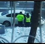 Drogówka w Rosji się nie patyczkuje...