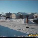 Zima = raj dla początkujących kaskaderów