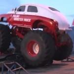 Zrobili monster trucka z kultowej Warszawy M20!