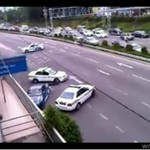 Policja kontra drifter - szalona akcja!