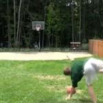 SZALONY trik z piłką do kosza