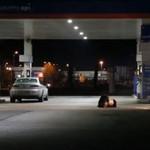 Kierowca zbiegł z miejsca wypadku - eksperyment