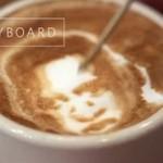 Sztuka w filiżance kawy - BOSKIE!