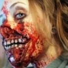 Genialny makijaż zombie!
