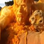 Rewelacyjna halloweenowa rzeźba - WOW!
