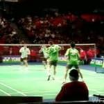 Niesamowity mecz badmintona