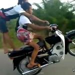 Szaleni motocykliści - MOGLI ZGINĄĆ!