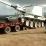 Załadunek czołgu - O OŁ...