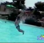 Kompilacja wypadków na basenie