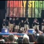 Wypadek na scenie - AUĆ!
