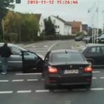 Kierowca BMW ponosi karę za bycie burakiem