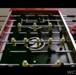 Nokaut podczas gry w piłkarzyki!