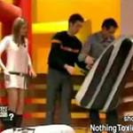 Skręciła kark podczas programu w telewizji