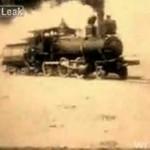 Test zderzeniowy lokomotyw z 1913 roku