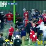 Bójka kiboli: Wisła kontra Legia