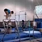 Fatalny wypadek gimnastyczki