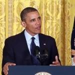 """Barack Obama śpiewa """"Lucky"""" Daft Punk"""