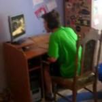 Szalony gracz rozwala monitor