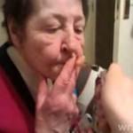 Siedemdziesięciolatka pali hasz