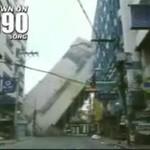 Wieżowiec runął na ulicę