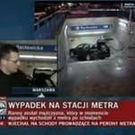 Wypadek na stacji metra