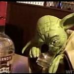Master Yoda zalany w trupa...