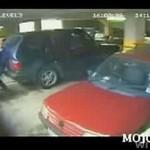 Zakochani na parkingu - wypadek!