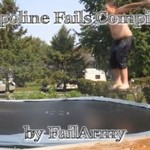Wpadki i wypadki na trampolinach
