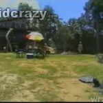 Motorówka wpadła na piknik