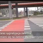 Niebezpieczny przejazd rowerowy w Łodzi