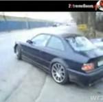 BMW - poślizg kontrolowany