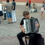 """Lot trzmiela"" na akordeonie"