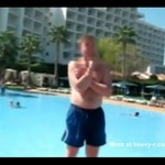 Rosjanin na wakacjach - prawie się zabił!