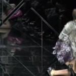 Upadek modelkina pokazie Burberry