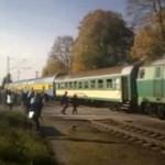 PKP - pociągi prawie się zderzyły!