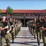 Musztra żołnierzy w Norwegii