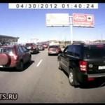 Rosja - tutaj kierowcy sami ustalają zasady...